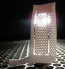 3D Printed Turbine Blase Casting Core